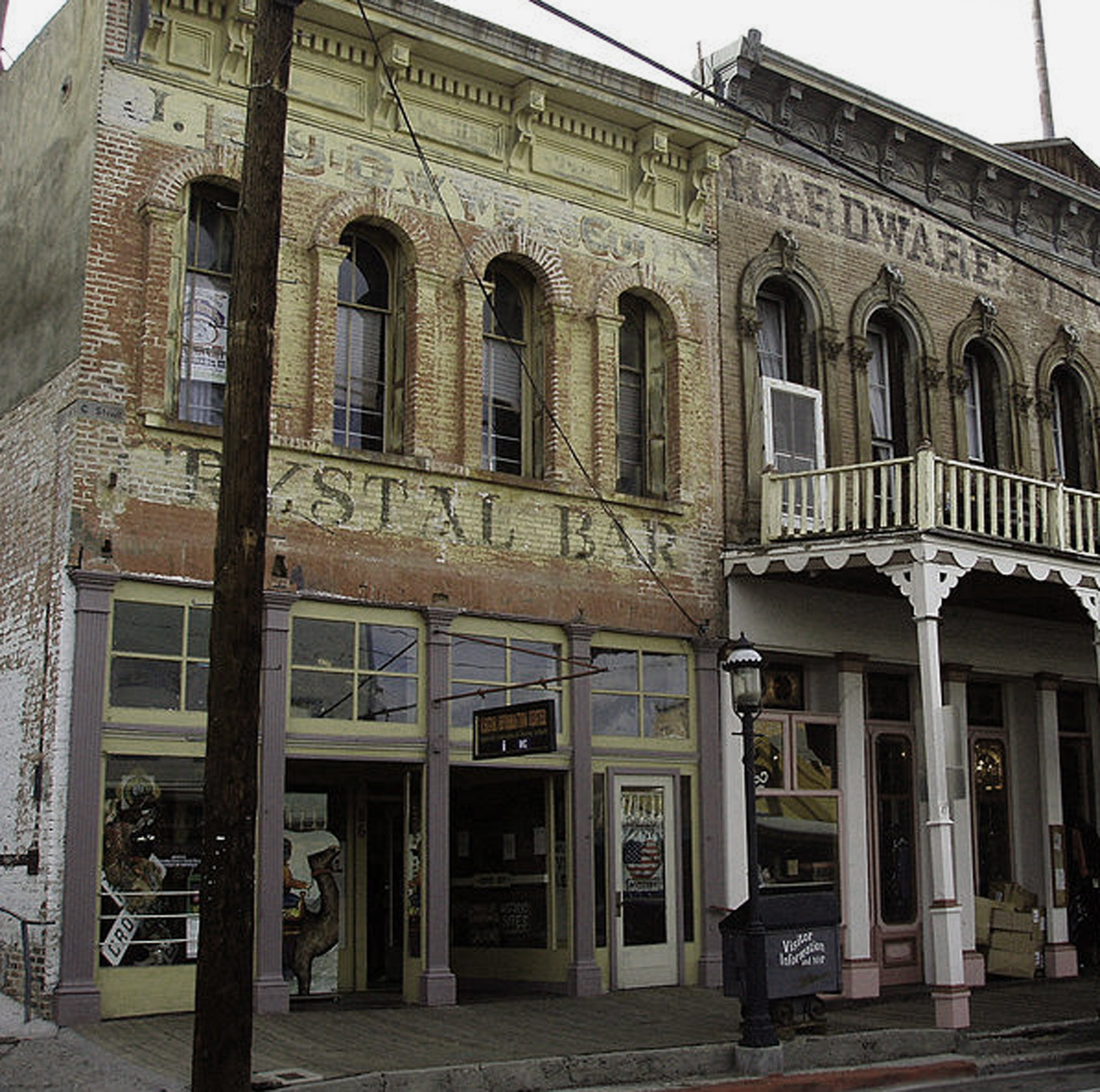 virginia city crystal bar